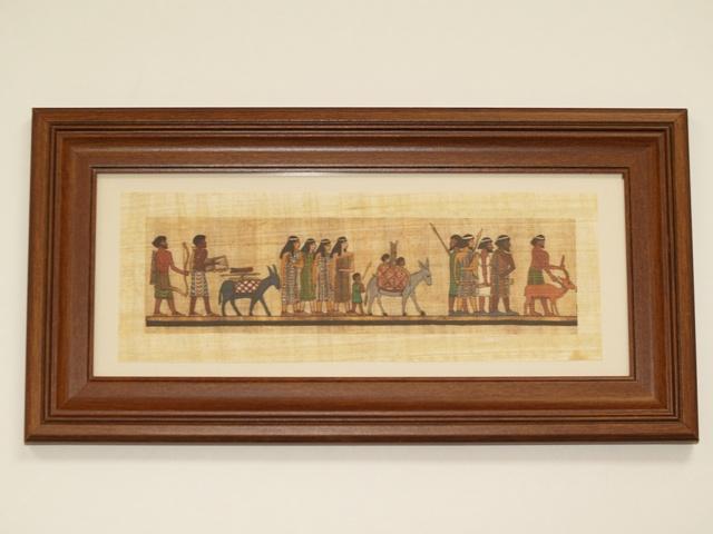 Bible moses aaron zen cart the art of e commerce for Beni hasan mural
