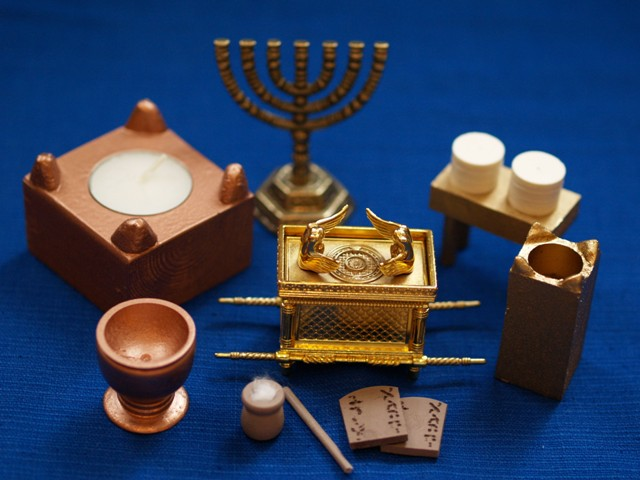Hebrew Tabernacle Furniture Set Regular Size 75 00