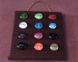 Real Shoulder Stones Of Aaron S Ephod Ibss Gift Shop