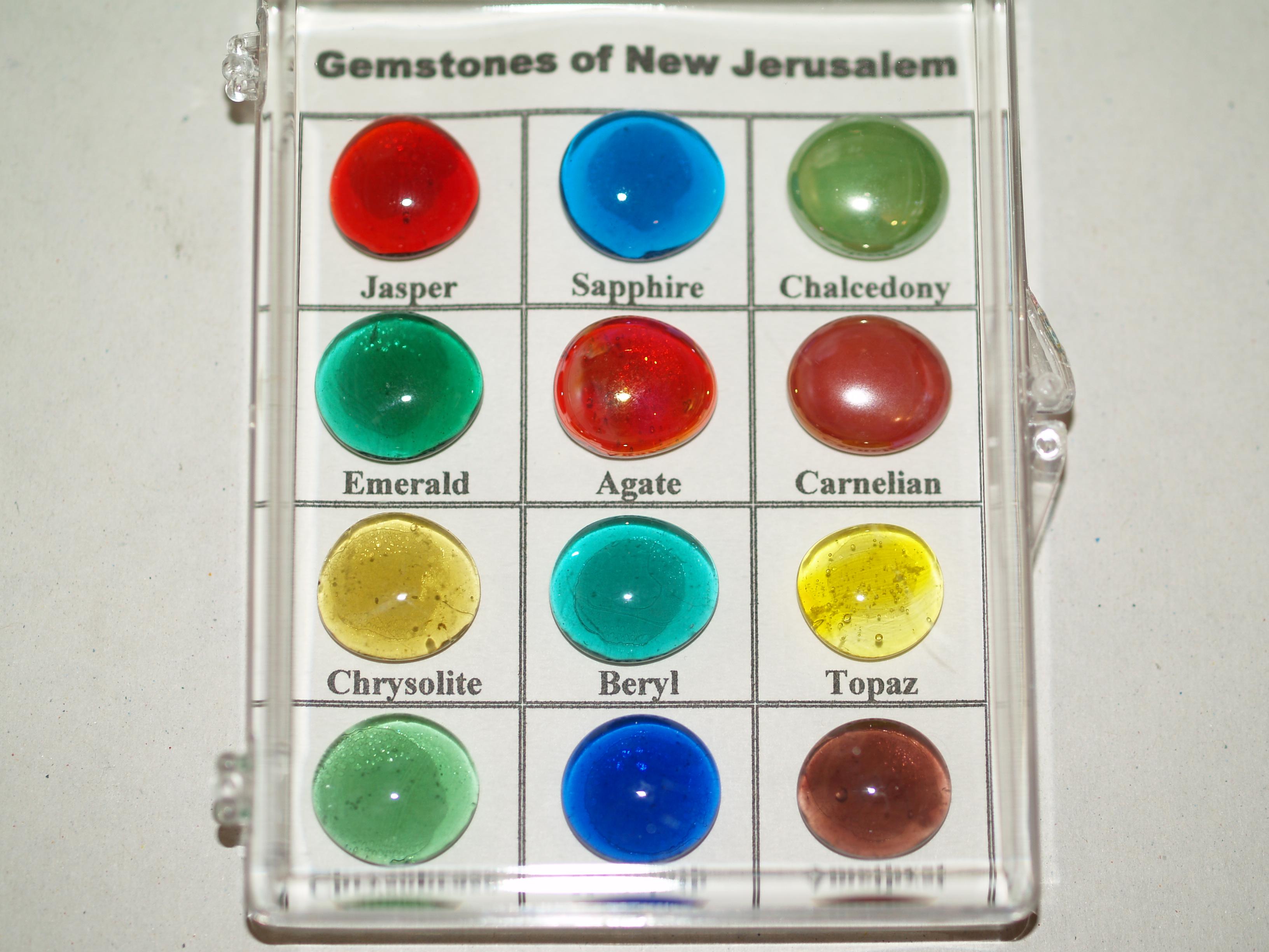 Gemstones Of New Jerusalem Simulated Stones Ibss Gift Shop