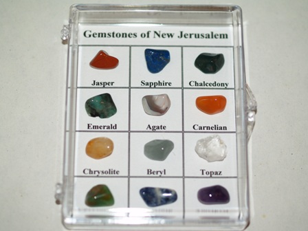 gemstones of new jerusalem real stones ibss gift shop